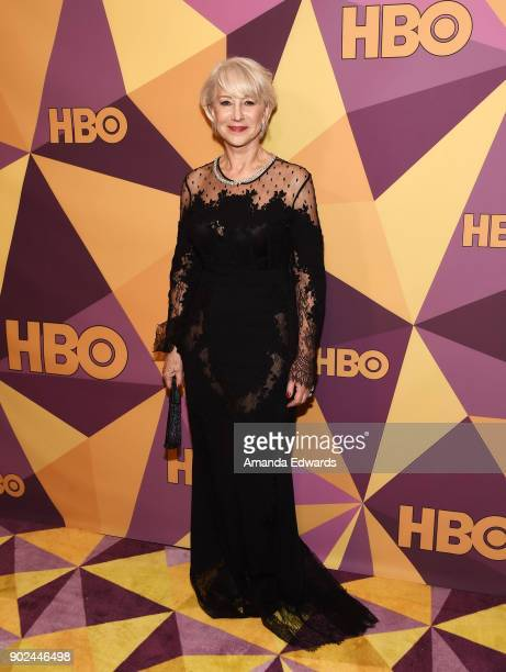 Actress Helen Mirren arrives at HBO's Official Golden Globe Awards After Party at Circa 55 Restaurant on January 7 2018 in Los Angeles California