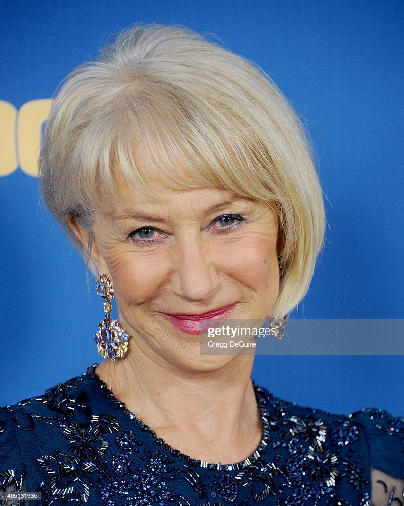 Actress Helen Mirren arrives at the 66th Annual Directors Guild Of America Awards at the Hyatt Regency Century Plaza on January 25, 2014 in Century City, California.