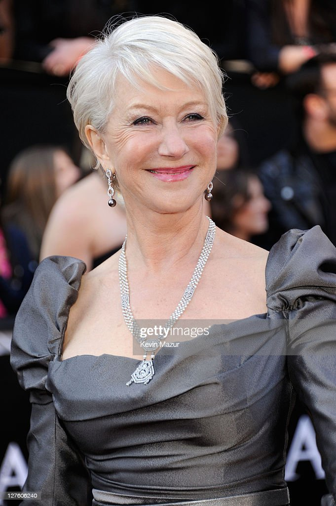 Actress Helen Mirren arrives at the 83rd Annual Academy Awards held at the Kodak Theatre on February 27, 2011 in Hollywood, California.