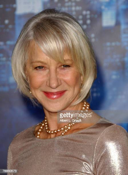 """Actress Helen Mirren arrives at the World Premiere of Walt Disney Pictures' """"Enchanted"""" held at the El Capitan Theater on November 17, 2007 in..."""