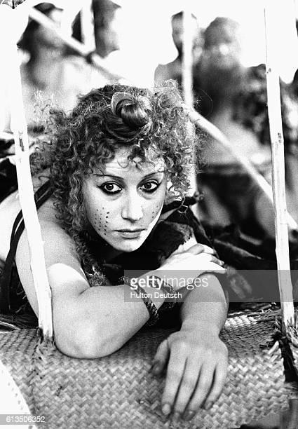 Actress Helen Mirren as Cassandra in Agamemnon 1978
