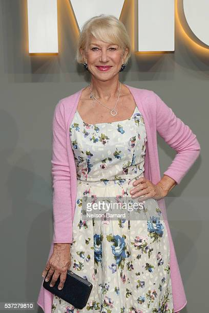 Actress Helen Mirren attends the 2016 Museum of Modern Art Party in the Garden at Museum of Modern Art on June 1 2016 in New York City