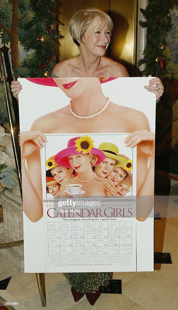 Helen mirren bikini calendar girls — photo 15