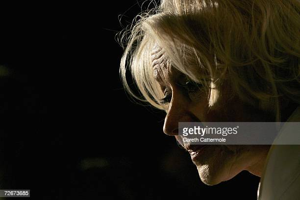 Actress Helen Mirren attends The British Independent Film Awards at the Hammersmith Palais on November 29 2006 in London England