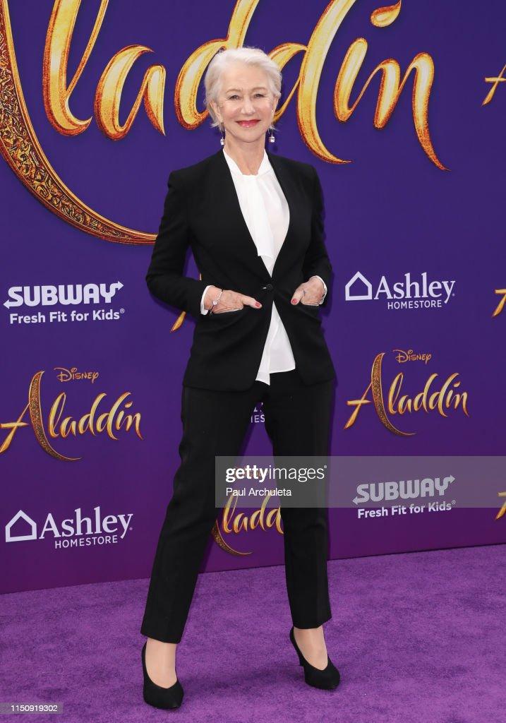 "Premiere Of Disney's ""Aladdin"" - Arrivals : News Photo"