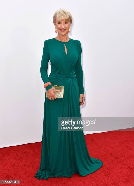 Actress Helen Mirren attends the premiere of Summit Entertainment's RED 2 at Westwood Village on July 11 2013 in Los Angeles California