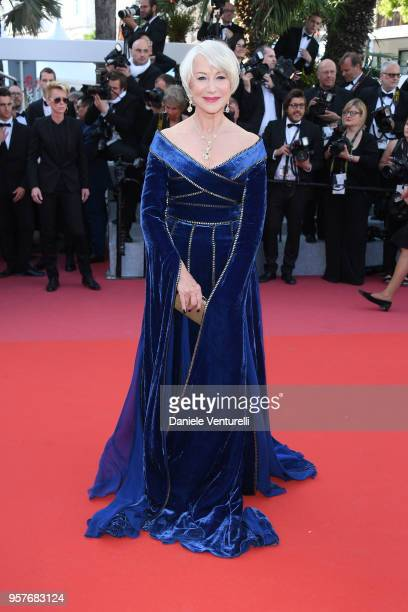 Actress Helen Mirren attends the screening of Girls Of The Sun during the 71st annual Cannes Film Festival at Palais des Festivals on May 12 2018 in...