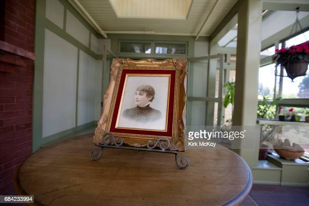 Actress Helen Mirren is photographed at the Winchester Mystery House for Los Angeles Times on May 5 2017 in San Jose California PUBLISHED IMAGE...