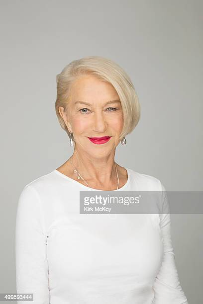 Actress Helen Mirren is photographed for Los Angeles Times on November 13 2015 in Los Angeles California PUBLISHED IMAGE CREDIT MUST READ Kirk...