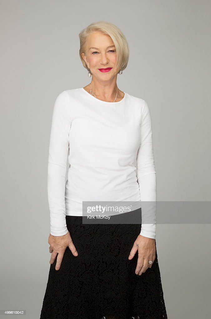 Helen Mirren, Los Angeles Times, November 24, 2015 : News Photo