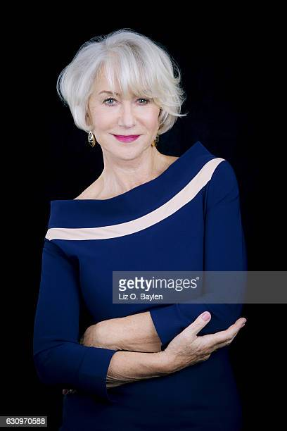Actress Helen Mirren is photographed for Los Angeles Times on November 21 2016 in Los Angeles California PUBLISHED IMAGE CREDIT MUST READ Liz O...