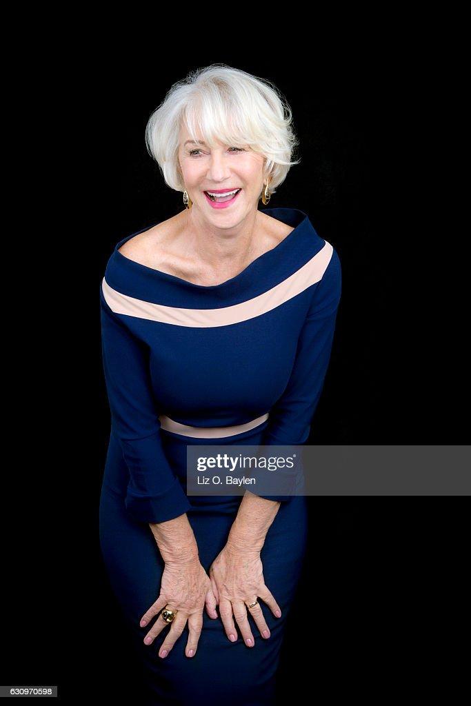 Helen Mirren, Los Angeles Times, December 23, 2016 : News Photo