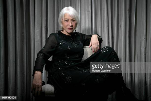 Actress Helen Mirren is photographed for Los Angeles Times on January 10 2018 in Beverly Hills California PUBLISHED IMAGE CREDIT MUST READ Robert...