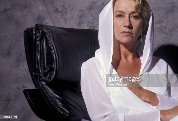 Actress Helen Mirren poses for a portrait in 1992 in Los Angeles California