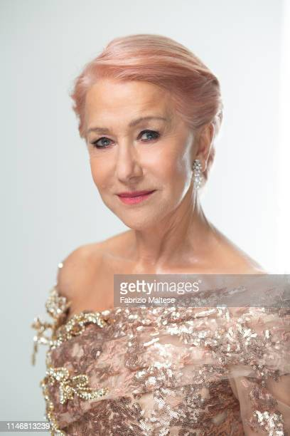Actress Helen Mirren poses for a portrait on May 18 2019 in Cannes France