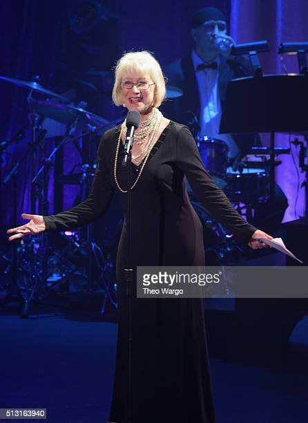 Actress Helen Mirren speaks onstage during the Roundabout Theatre Company 2016 Spring Gala at The WaldorfAstoria on February 29 2016 in New York City
