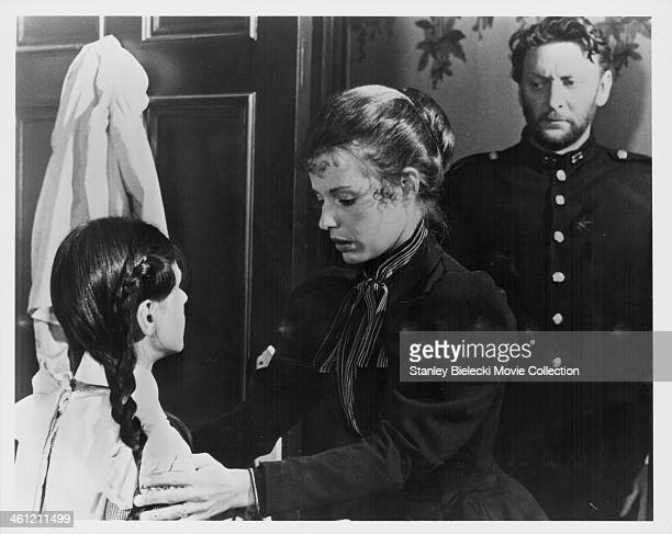 Actress Helen Morse playing Madamoiselle de Poitiers in a scene from the film 'Picnic at Hanging Rock' 1975