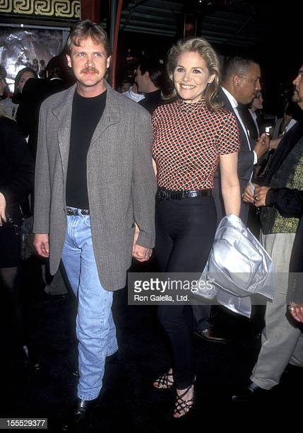 Actress Helen Shaver and husband Steve Smith attend The Craft Hollywood Premiere on April 26 1996 at Mann's Chinese Theatre in Hollywood California