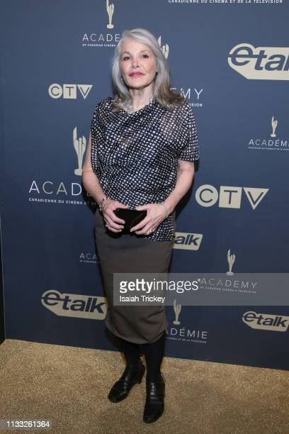 Actress Helen Shaver attends Canadian Screen Awards The CTV Gala Honouring Excellence In Fiction Programming at Heritage Court Exhibition Place on...