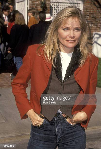 Actress Helen Shaver attends Henry Winkler's Annual Brunch to Celebrate the Tenth Annual Celebrity Day at MacLaren Children's Center on March 16 1991...
