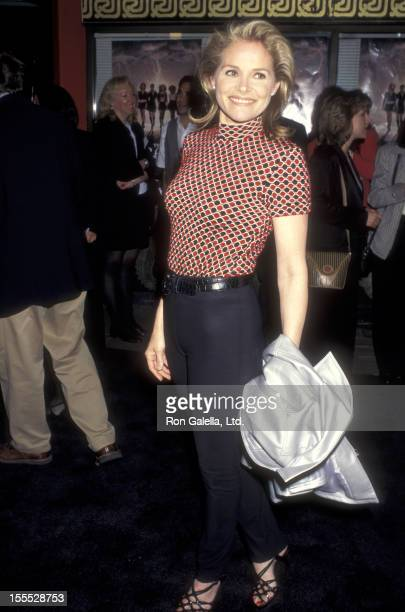 Actress Helen Shaver attends The Craft Hollywood Premiere on April 26 1996 at Mann's Chinese Theatre in Hollywood California