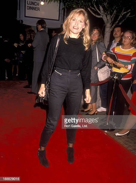 Actress Helen Shaver attends the Pacific Heights Westwood Premiere on September 24, 1990 at Avco Center Cinemas in Westwood, California.