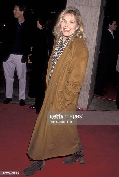 Actress Helen Shaver attends the Philadelphia Century City Premiere on December 14 1993 at Cineplex Odeon Century Plaza Cinemas in Century City...