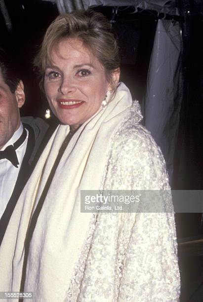 Actress Helen Shaver attends the Vogue Magazine's 100th Anniversary Celebration on April 2 1992 at New York Public Library in New York City
