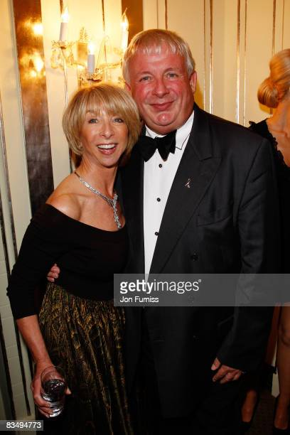 Actress Helen Worth and Christopher Biggins arrive at the TV Quick TV Choice Awards Held at the Dorchester Hotel on September 8 2008 in London England