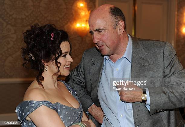 Actress Helena Bonham Carter and producer John Laing attend the BAFTA Los Angeles Awards Season Tea in Association with The Four Seasons and Bombay...