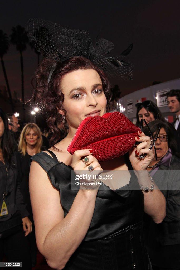 Actress Helena Bonham Carter arrives at the 16th annual Critics' Choice Movie Awards at the Hollywood Palladium on January 14, 2011 in Los Angeles, California.