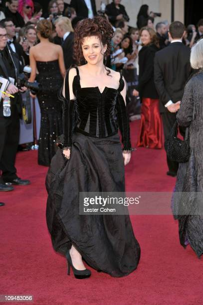Actress Helena Bonham Carter arrives at the 83rd Annual Academy Awards held at the Kodak Theatre on February 27 2011 in Los Angeles California