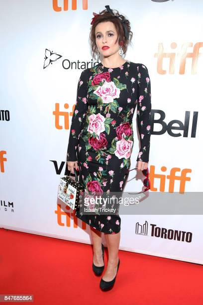 Actress Helena Bonham Carter attends the '55 Steps' World Premiere during the 2017 Toronto International Film Festival at Roy Thomson Hall on...