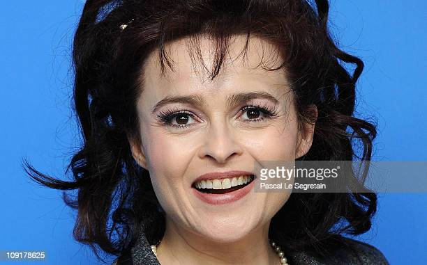 Actress Helena Bonham Carter attends the 'Toast' Photocall during day seven of the 61st Berlin International Film Festival at the Grand Hyatt on...