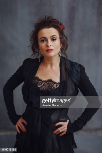 Actress Helena Bonham Carter of '55 Steps is photographed at the 2017 Toronto Film Festival on September 16 2017 in Toronto Ontario