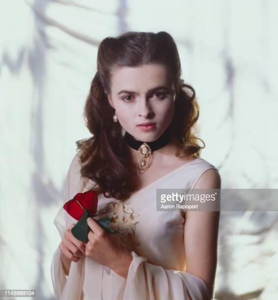 Actress Helena Bonham Carter poses for a portrait circa 1986 in Los Angeles, California