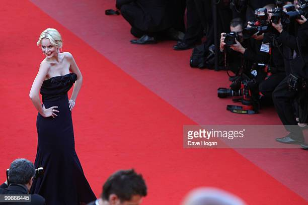 Actress Helena Mattson attends Biutiful Premiere at the Palais des Festivals during the 63rd Annual Cannes Film Festival on May 17 2010 in Cannes...