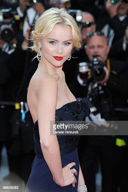 Actress Helena Mattson attends the premiere of 'Biutiful' held at the Palais des Festivals during the 63rd Annual International Cannes Film Festival...