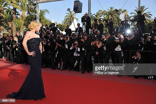 Actress Helena Mattsson attends 'Biutiful' Premiere at the Palais des Festivals during the 63rd Annual Cannes Film Festival on May 17 2010 in Cannes...