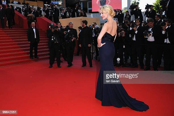 Actress Helena Mattsson attends Biutiful Premiere at the Palais des Festivals during the 63rd Annual Cannes Film Festival on May 17 2010 in Cannes...
