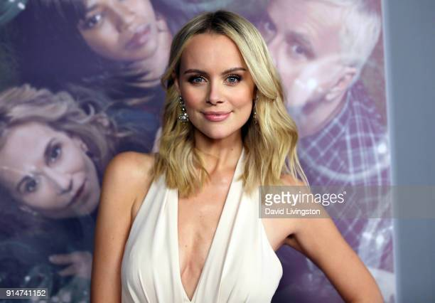 Actress Helena Mattsson attends the premiere of HBO's Here and Now at the Directors Guild of America on February 5 2018 in Los Angeles California