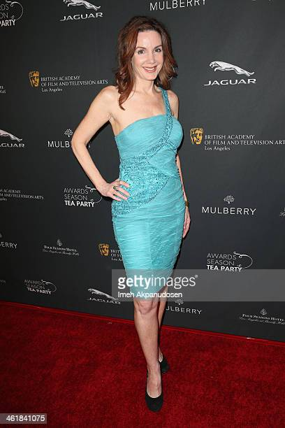 Actress Helene Cardona attends the BAFTA LA 2014 Awards Season Tea Party at the Four Seasons Hotel Los Angeles at Beverly Hills on January 11 2014 in...