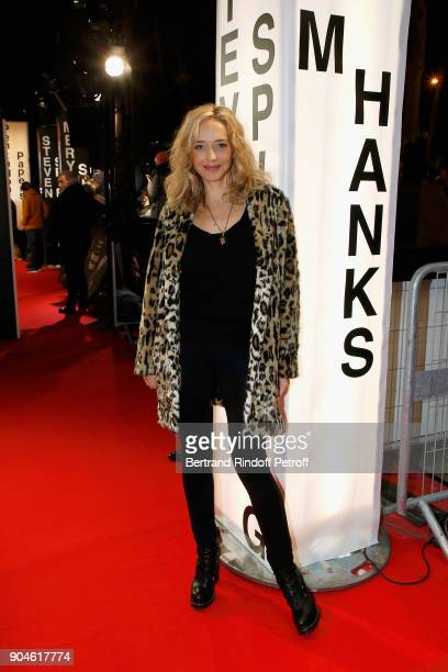 Actress Helene de Fougerolle attends the 'Pentagon Papers' Paris Premiere at Cinema UGC Normandie on January 13 2018 in Paris France