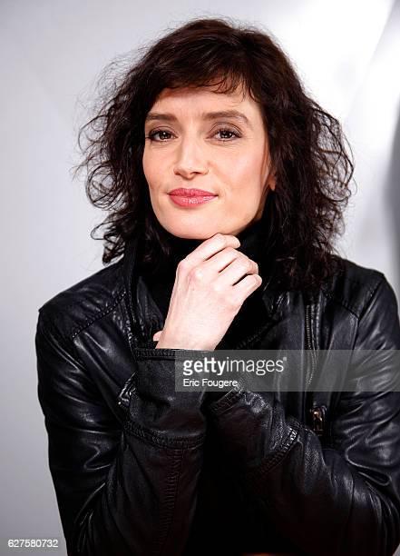 Actress Helene Seuzaret Photographed in PARIS