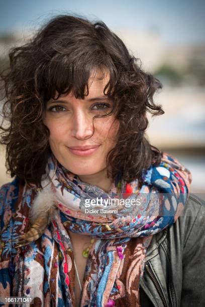 Actress Helene Seuzaret poses during a photocall for the TV Series 'No Limit' at MIP TV 2013 on April 9, 2013 in Cannes, France.