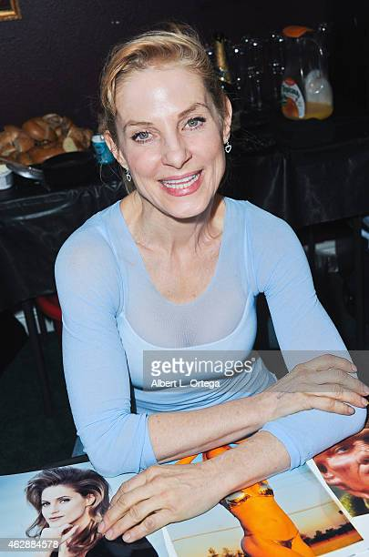 Actress Helene Udy at the Second Annual David DeCoteau's Day Of The Scream Queens held at Dark Delicacies Bookstore on January 25, 2015 in Burbank,...