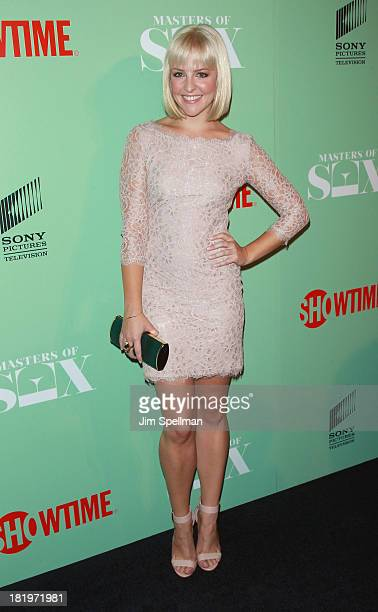 Actress Helene Yorke attends 'Masters Of Sex' New York Series Premiere at The Morgan Library Museum on September 26 2013 in New York City