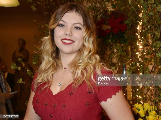 Actress Heloise Martin attends 26th Gala de L'Espoir Ligue contre Le Cancer at Theatre des Champs Elysees on October 22, 2018 in Paris, France.