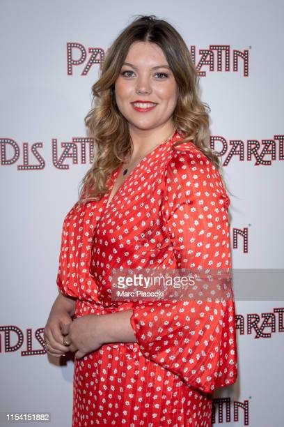 Actress Heloise Martin attends the L'Oiseau Paradis show at Le Paradis Latin on June 06, 2019 in Paris, France.