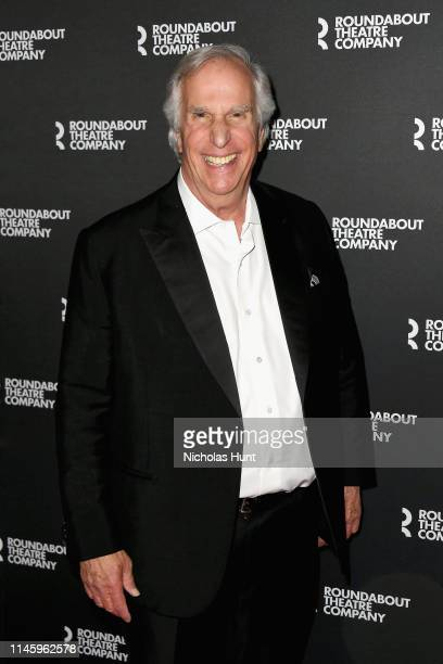Actress Henry Winkler attends red carpet for th Twentieth Century Benefit Concert Reading at Studio 54 on April 29 2019 in New York City